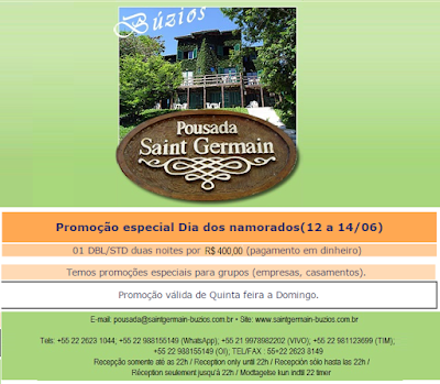 Dia dos namorados; hotel pousada armação de Búzios, Rio de Janeiro, Brasil, região dos Lagos