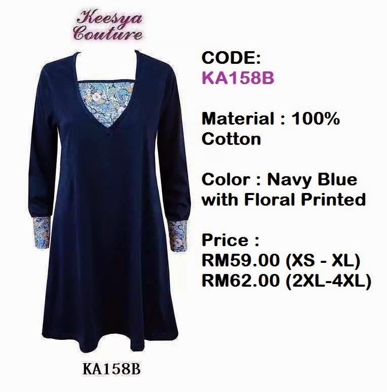 T-shirt-Muslimah-Keesya-KA158B
