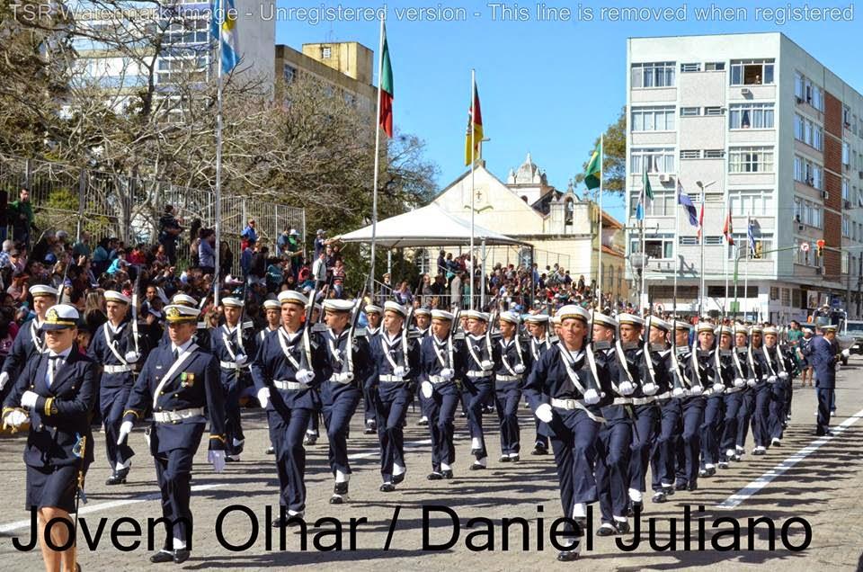 Desfile de 07/09 em RIo Grande
