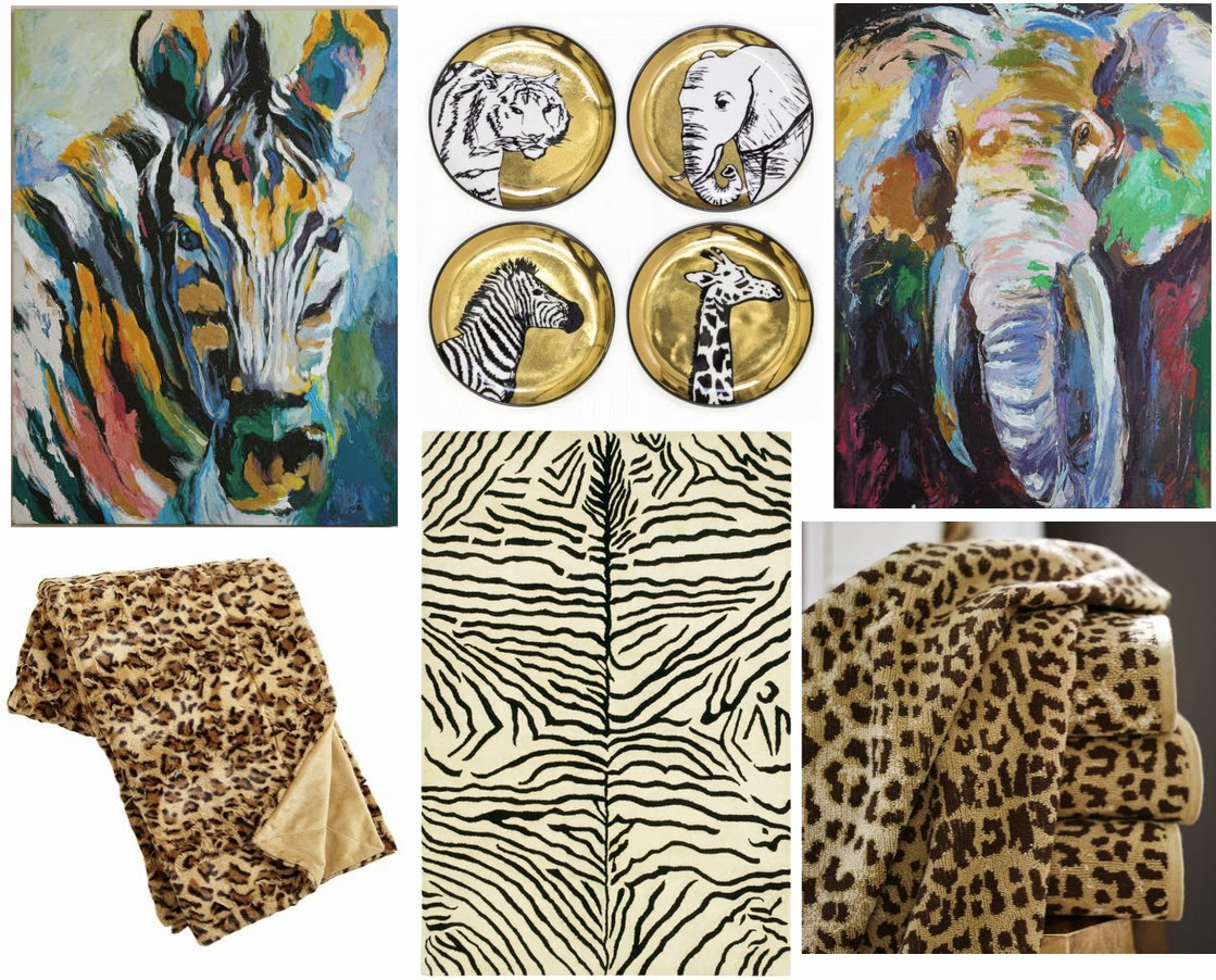 Chic Home Decor Ideas | Safari Accents | Luci's Morsels