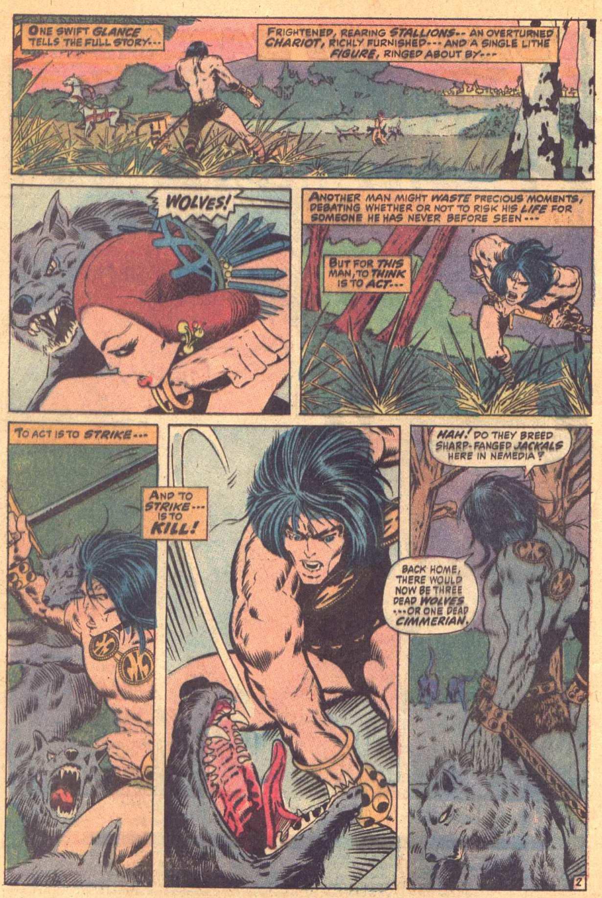 Conan the Barbarian (1970) Issue #7 #19 - English 3