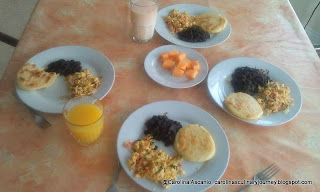 Desayuno Venezolano Tradicional - Venezuelan Traditional Breakfast (Venezuela)
