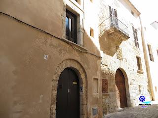 DALT VILA  IBIZA - EIVISSA - Casas de la burguesía pitiusa
