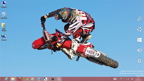 Motocross Theme For Windows 7 And 8