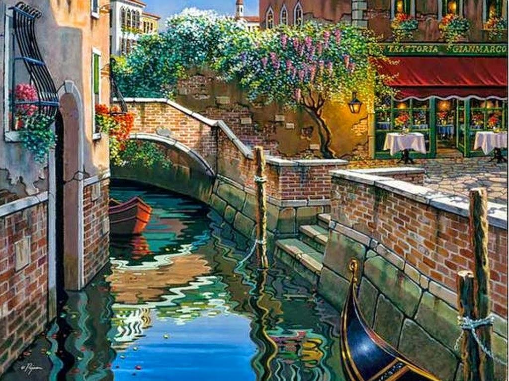 paisajes-venecianos-pintados-al-oleo