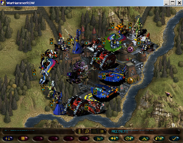 Warhammer 40,000: Rites of War - Units Leveling Screenshot