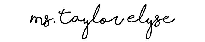 ms. taylor elyse