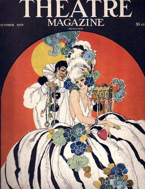 theatre magazine cover conant