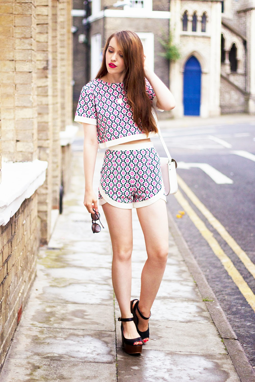 retro co-ords uk fashion blogger
