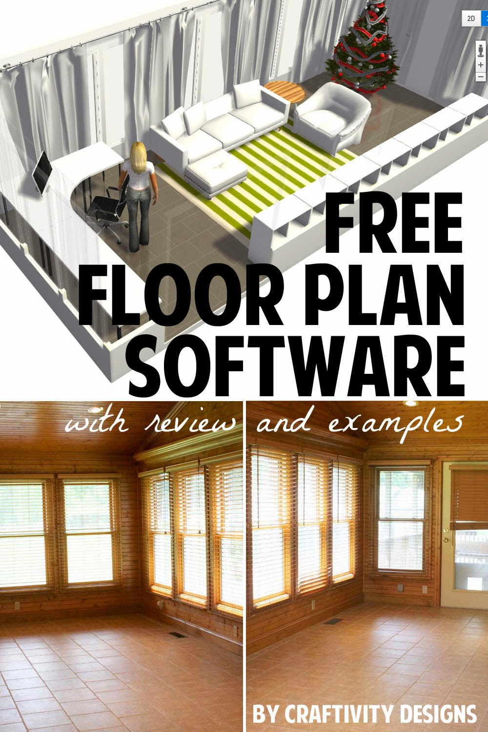 Quick easy and free floor plan software home by me for Free floor design software