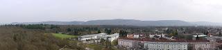 Nordschwarzwaldkante im Bereich zwischen Turmberg bei Karlsruhe-Durlach