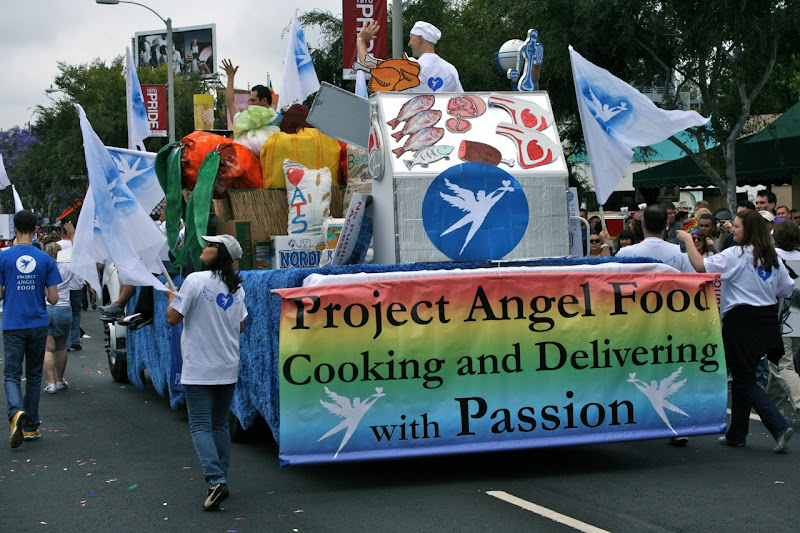 Project Angel Food Pride Float 2011