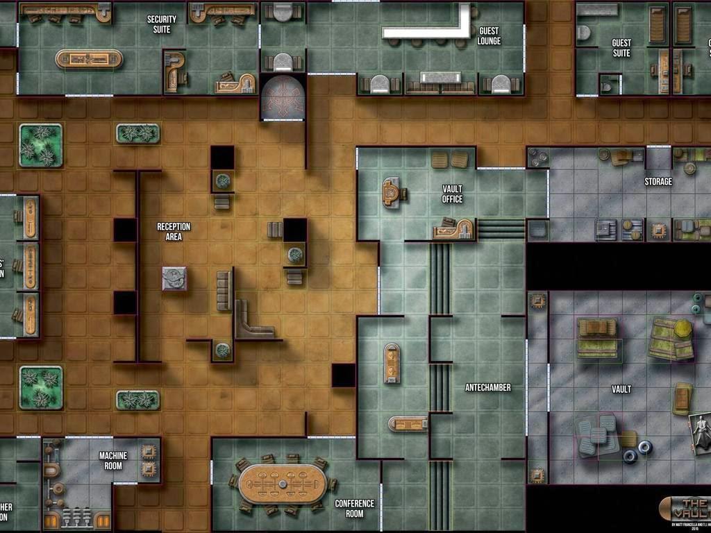 Tabletop Fix Matt Fracella Map Pack 6 Kickstarter