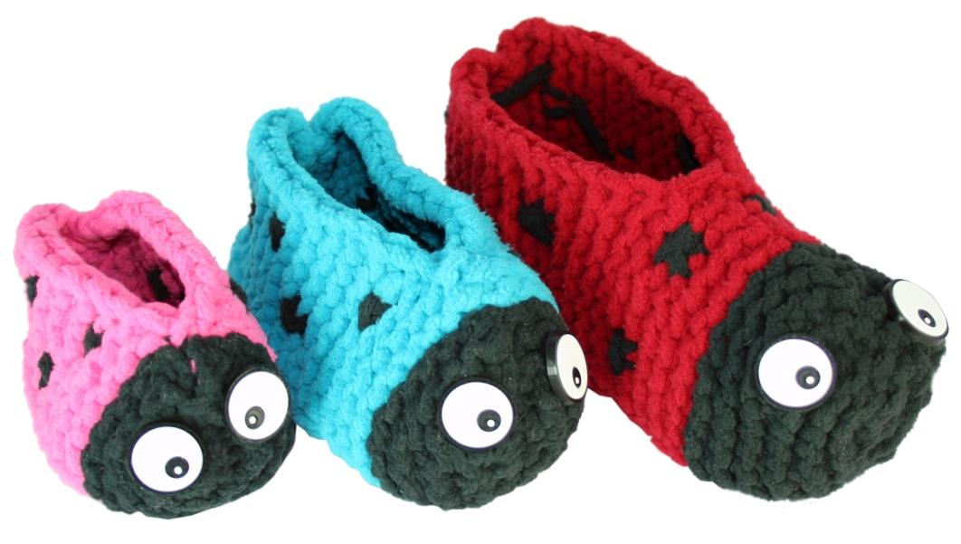 ladybug adult slippers