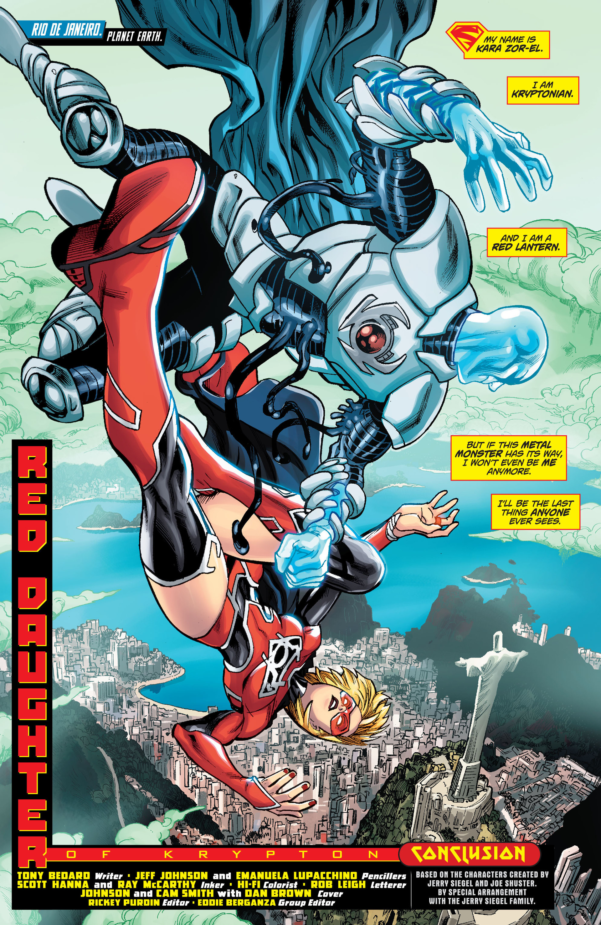 Supergirl (2011) Issue #33 #35 - English 2