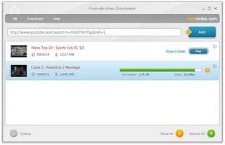 برنامج تحميل اي فيديو  Download any video