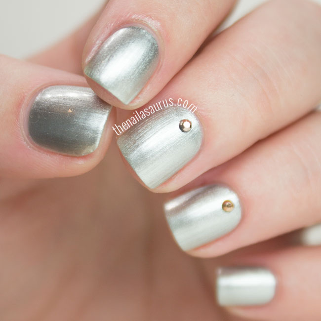 OPI 50 Shades of Grey Collection My Silk Tie Swatch