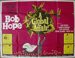 British Quad film poster for A Global Affair