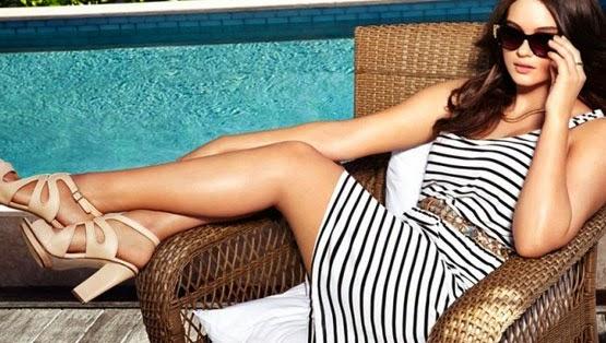 H&M tallas grandes colección primavera verano 2014 Private Paradise