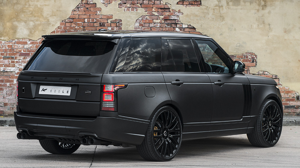 Range Rover Autobiography Black Interior >> Three New Range Rover Tunes from Project Kahn | Carscoops