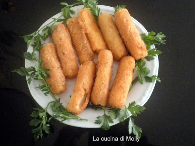 bastoncini di surimi in pastella