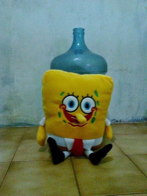 Jual beli boneka spongebob squarepart murah di karawang harga Rp.65.000,- + ongkir