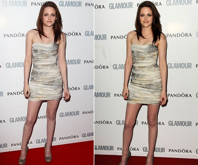 Hot Kristen Stewart at the 2011 Glamour Women of the Year Awards