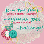 Sandy's Monthly Challenge