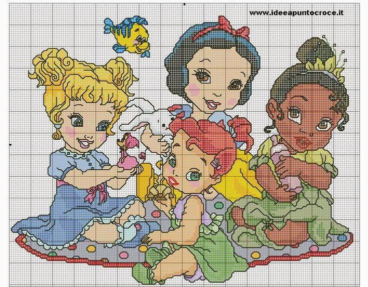 Eccezionale Hobby lavori femminili - ricamo - uncinetto - maglia: Schemi  AK88