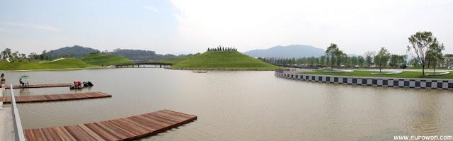 Estanque de la Exposición de Jardines de la Bahía Suncheonman