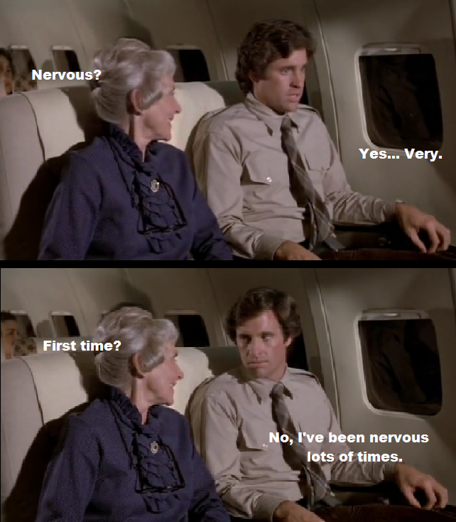Cena de Apertem os cintos... o piloto sumiu!