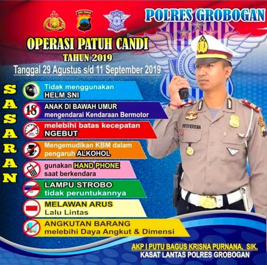 Operasi Patuh Candi 2019