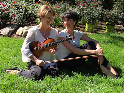 "THE BLACK BOX Classical Series presents violinist Irina Fainkichen and pianist Irina Kotlyar in ""Tea for Two"" on November 7"
