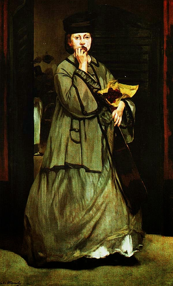 ЭДУАР МАНЕ. Уличная певица. Ок. 1862.