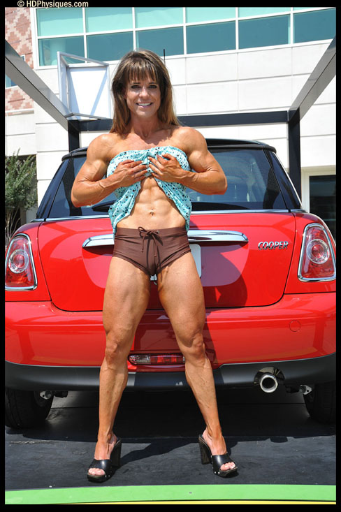Crystal Rieke Female Muscle Bodybuilder Blog