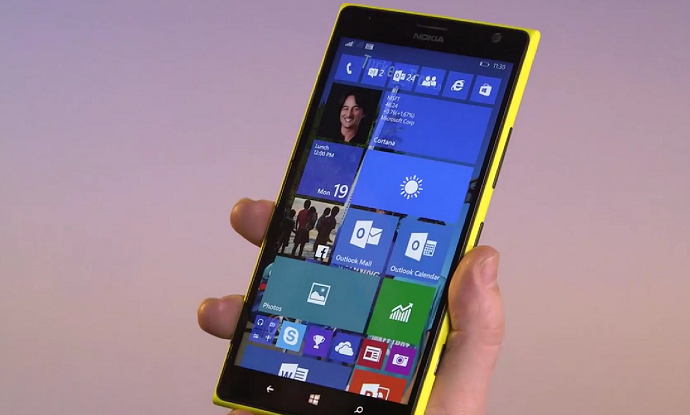 windows 10 on Nokia Lumia