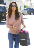 Eva Longoria all smiles out in West Hollywood