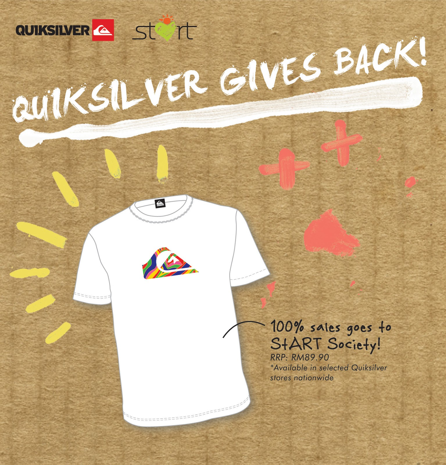 Quiksilver shirt design