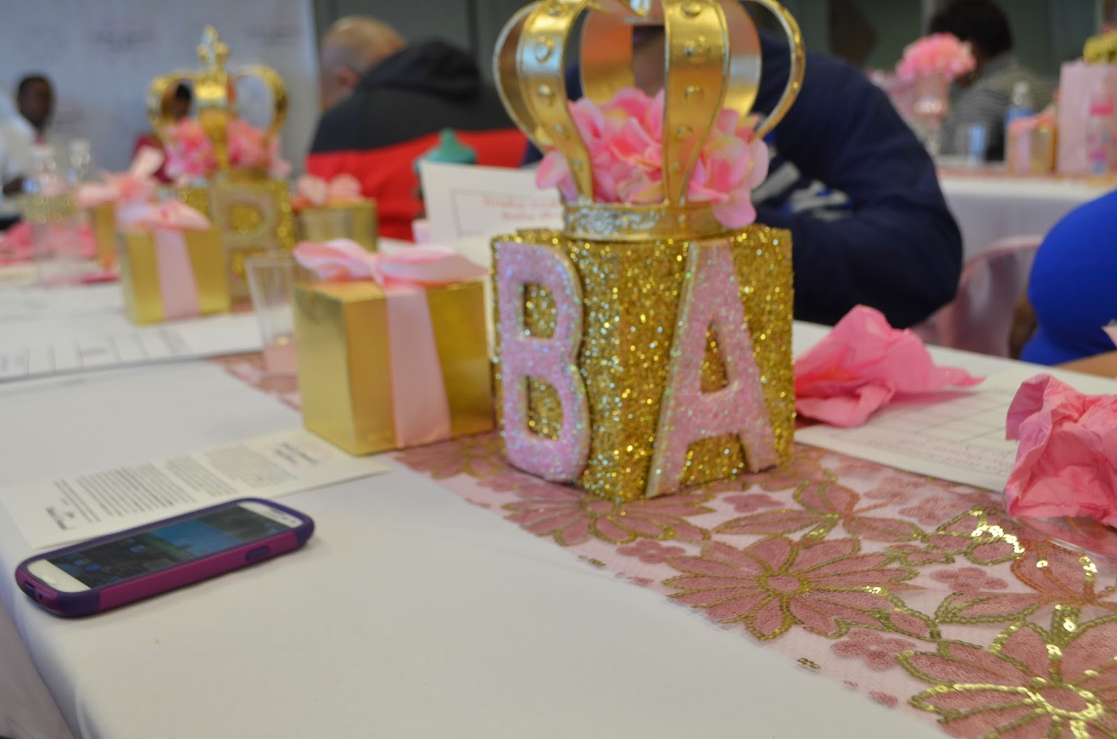 for all things creative my pink gold baby shower