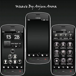 Weave Nokia 1 Theme for Nokia Belle  Weave by Arjun Arora