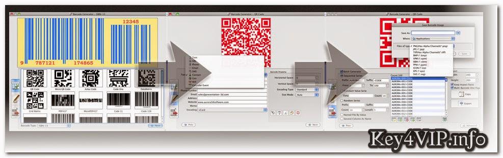 Download Aurora3D Barcode Generator v4.1107 Full Key,Phần mềm tạo mã vạch sản phẩm