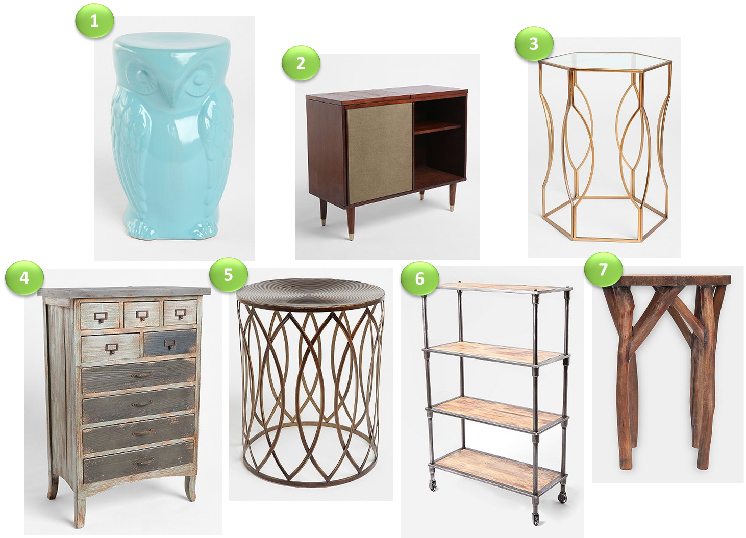 Cup Half Full: Inexpensive Furniture Finds