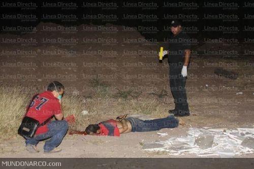 La víctima fue hallada a la orilla de la carretera que conduce de El