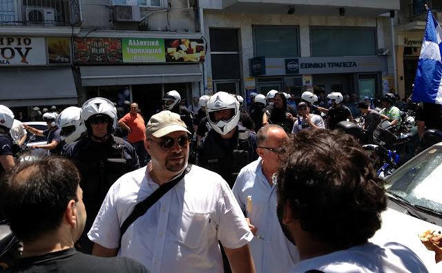 Παρεμποδίστηκε προεκλογική δράση της Χρυσής Αυγής από την Αστυνομία