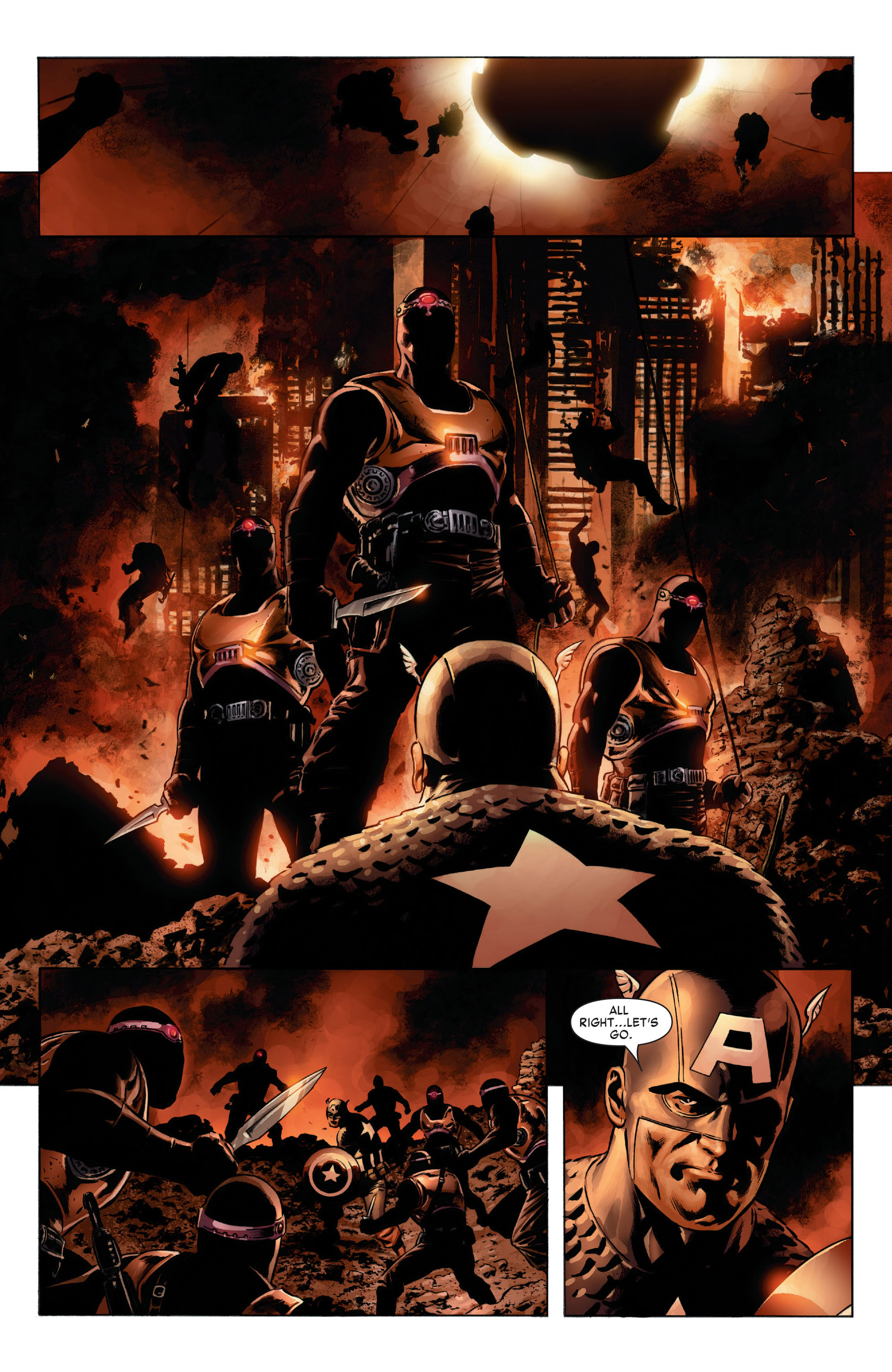 Captain America (2005) Issue #8 #8 - English 10