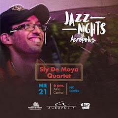 Jazz Nights at Acrópolis presenta, este miércoles 21 de marzo a las 6PM:
