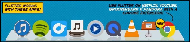 برنامج Flutter للتحكم في اليوتيوب وبعض برامج المديا بيدك عن بعد