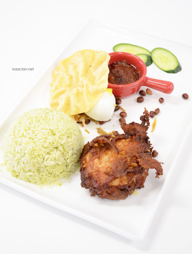 Johan's Nasi Lemak - RM13.80