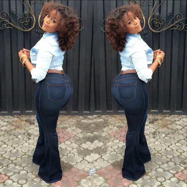 Booty nollywood actresses big