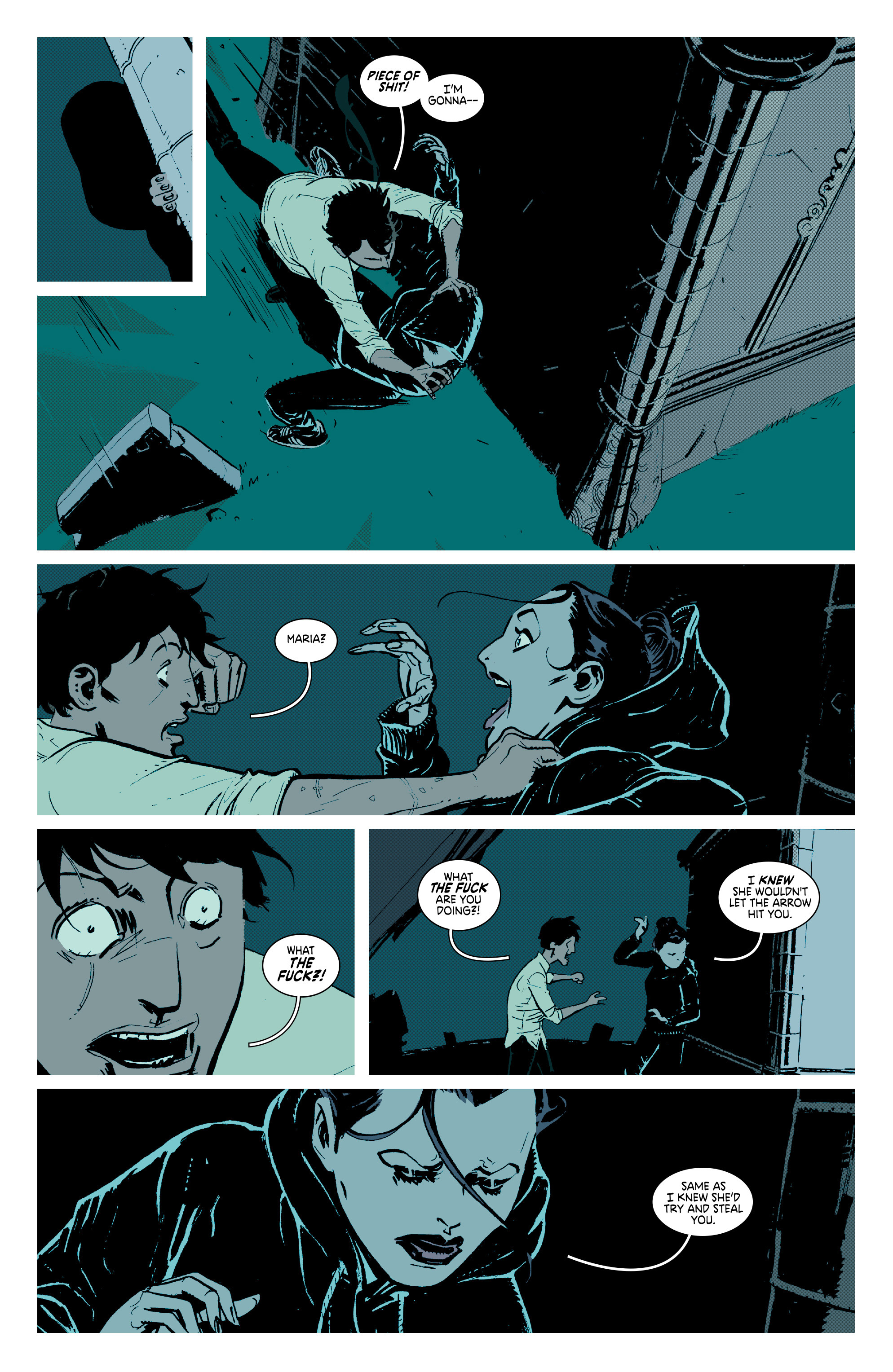 Read online Deadly Class comic -  Issue #7 - 18